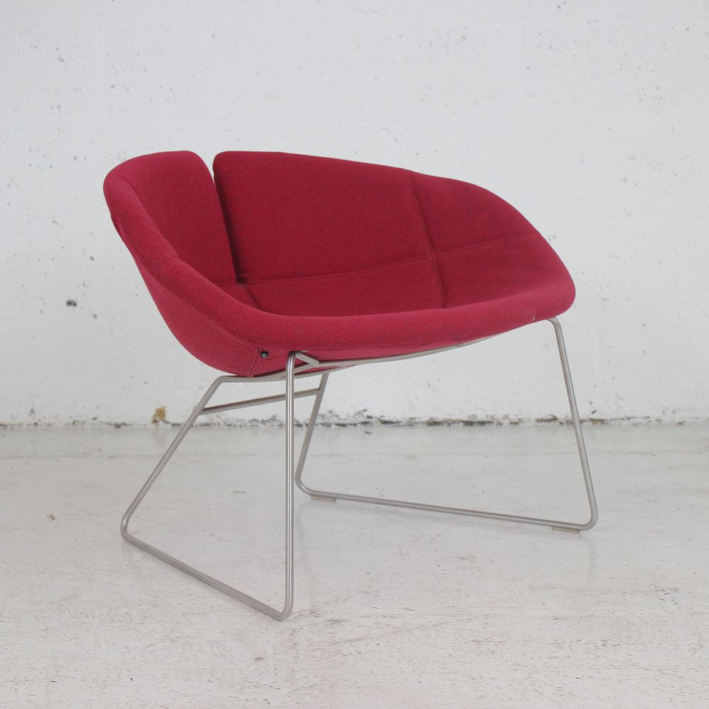 Moroso Fjord Armchair  Circular chair  Lounge chair